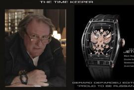 Депардье выпускает часы «Горжусь быть Русским»